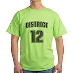 District 12 Design 6 Green T-Shirt