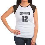 District 12 Design 6 Women's Cap Sleeve T-Shirt