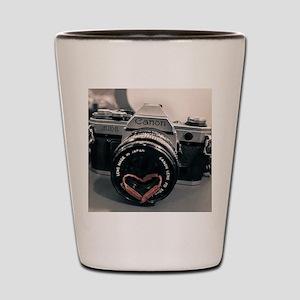 Love photography  Shot Glass