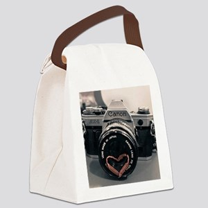 Love photography  Canvas Lunch Bag