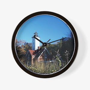 3-001 January Presque Isle 2011 Wall Clock