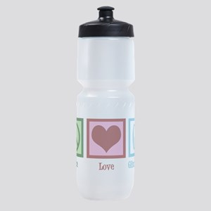 Peace Love Gilmore Girls Sports Bottle