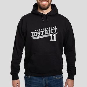 District 11 Design 3 Hoodie (dark)