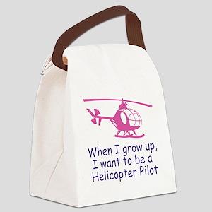 heliPilot Canvas Lunch Bag