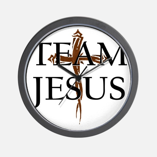 TeamJesus Wall Clock