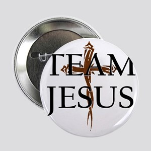 """TeamJesus 2.25"""" Button"""