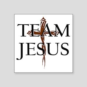 """TeamJesus Square Sticker 3"""" x 3"""""""