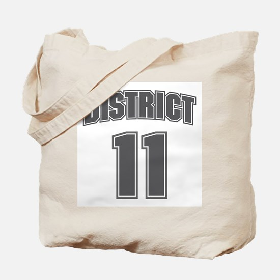 District 11 Design 6 Tote Bag