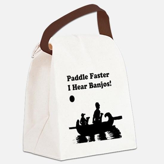 I hear banjos Canvas Lunch Bag