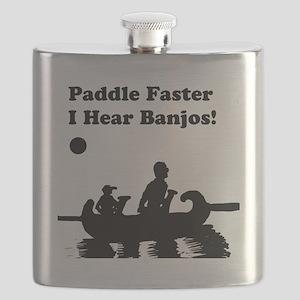 I hear banjos Flask