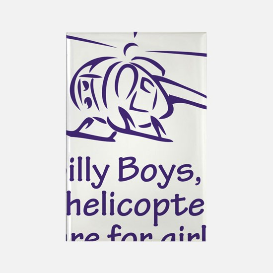 SillyBoys Rectangle Magnet