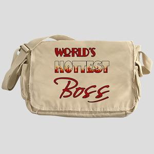 World's Hottest Boss Messenger Bag