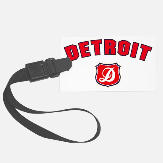 Detroit Throwback Luggage Tag