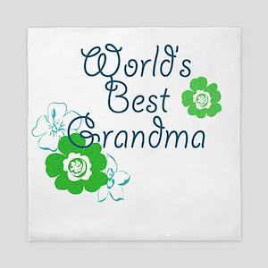 Worlds Best Grandma Queen Duvet