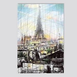 Paris 10 Postcards (Package of 8)