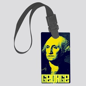 george Large Luggage Tag