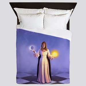 Wiccan Twilight Queen Duvet