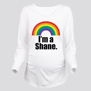 Shane Rainbow Long Sleeve Maternity T-Shirt