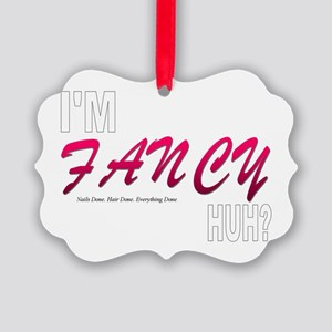 FANCY HUH2 Picture Ornament