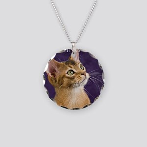 cover Necklace Circle Charm