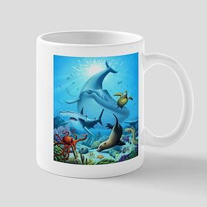 Ocean Life Mugs