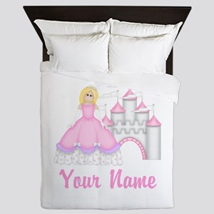 Princess Personalized Queen Duvet