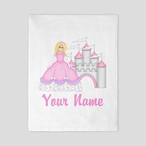 Princess Personalized Twin Duvet