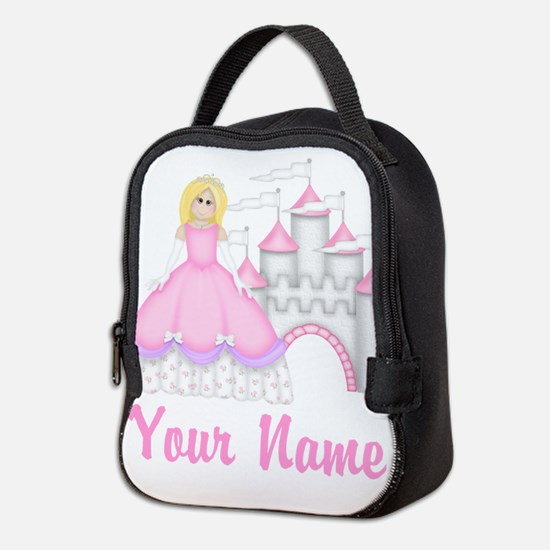 Princess Personalized Neoprene Lunch Bag