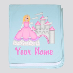 Princess Personalized baby blanket