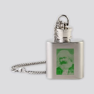 marx Flask Necklace