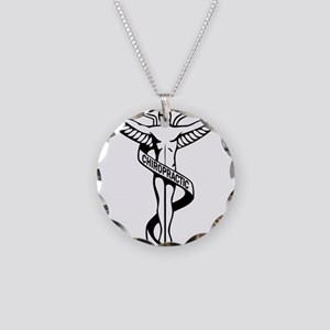 Chiropractic Symbol Necklace