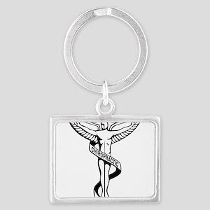 Chiropractic Symbol Keychains