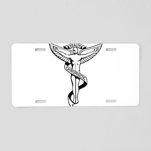Chiropractic Symbol Aluminum License Plate