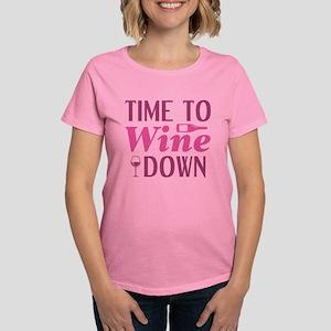 Time To Wine Down Women's Dark T-Shirt