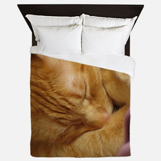 Sleepy Tiger Queen Duvet