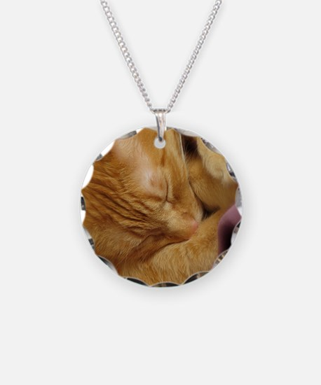 Sleepy Tiger Necklace