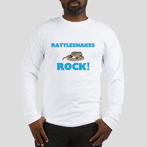 Rattlesnakes rock! Long Sleeve T-Shirt