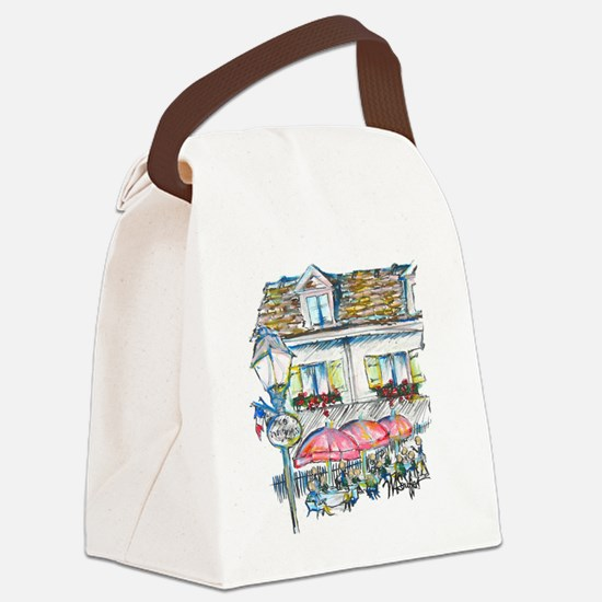 signed large monmartre Canvas Lunch Bag
