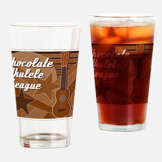 titusfactory_ChocolateUkeLeague02 Drinking Glass