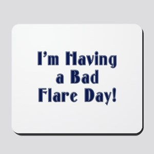 Bad Flare Day Mousepad