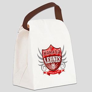 HabanaShield_LIGHT Canvas Lunch Bag