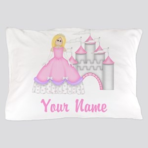 Princess Castle Personalized Pillow Case