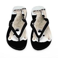 Polar Bear Cub Flip Flops