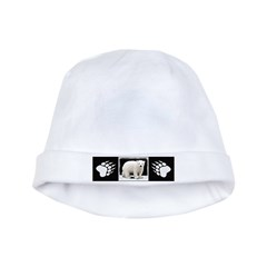 Polar Bear Cub Baby Hat