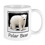 Polar Bear Cub 11 oz Ceramic Mug
