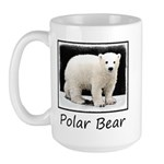 Polar Bear Cub 15 oz Ceramic Large Mug