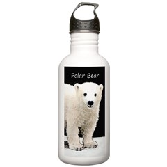 Polar Bear Cub Water Bottle