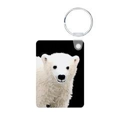 Polar Bear Cub Keychains