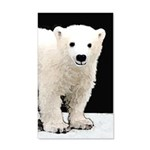 Polar Bear Cub 20x12 Wall Decal