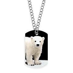 Polar Bear Cub Dog Tags